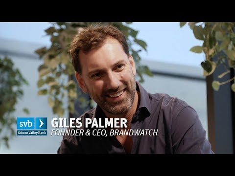 Giles Palmer, Brandwatch: Fundraising for fast growth