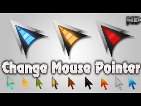 How to change Mouse Pointer/cursor in windows 10
