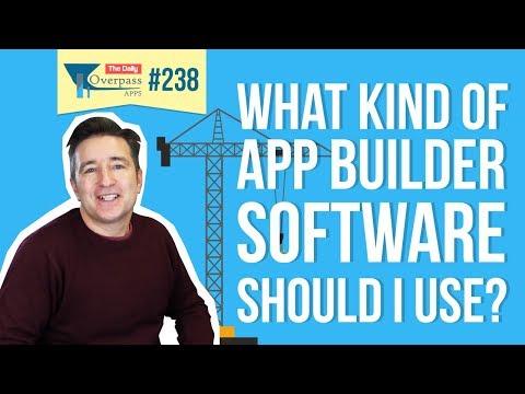 What Kind of App Builder Software Should I Use?