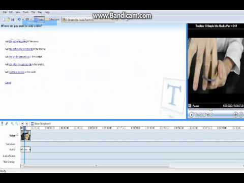 how to put subtitles on a video using movie maker 2.6