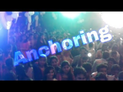 Comedy Anchoring in hindi || Anchoring in College Party || Pranay Kumar Anchoring || 2016