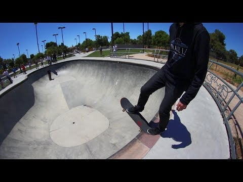 HOW NOT TO SKATE THE BIG BOWL!