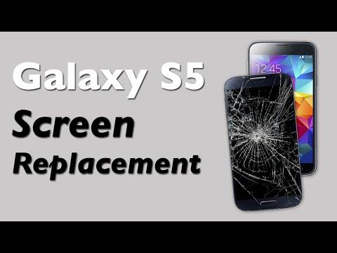Galaxy S5 Screen Replacement - Broken LCD repair guide
