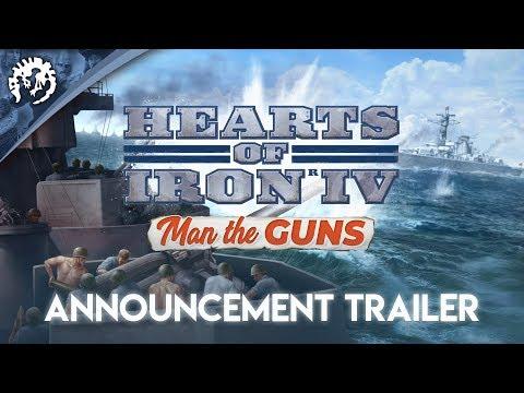 Hearts of Iron IV: Man the Guns - Announcement Trailer