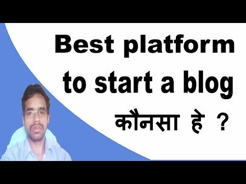 Which Is The Best Platform To Use To Start A Blog website