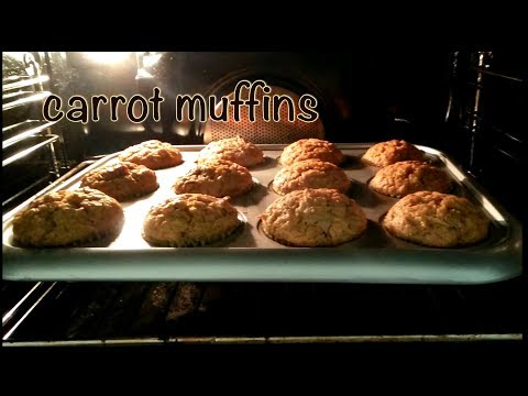 The Best Carrot Muffins in the world!