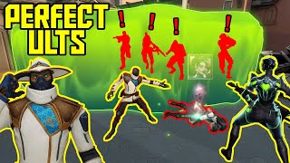 THE POWER OF PERFECT ULTIMATES #5 - 200 IQ Tricks & Combos - VALORANT