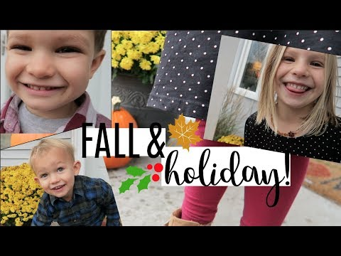 COMFY & COZY HOLIDAY KIDS HAUL! | SECOND HAND   FALL CLOTHING