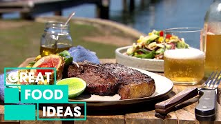 Spice-Rubbed Steak With Summer Salad | Food | Great Home Ideas