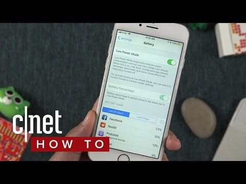 How to improve iPhone battery life with iOS 11 (CNET How To)