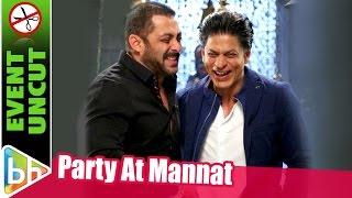 Salman Khan At Shah Rukh Khan