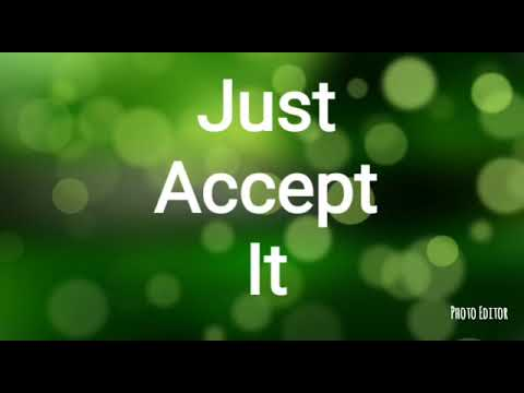 We Just Have To Accept It Morning Chat On Letting Go of The Narcissist AFTER You gave Your All