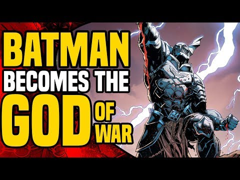 The Merciless: Batman Becomes The God Of War ( Dark Nights Metal )