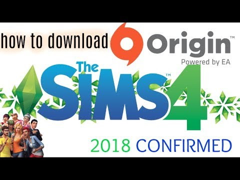 How to download origin on desktop computer & Sims 4