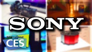 Coolest Tech at Sony Booth (CES 2016)