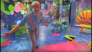 Download Blippi Tours a Children's Museum | Learning for Toddlers Video