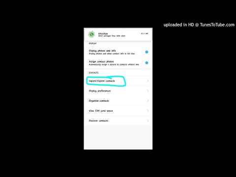 Use this option for backup and recovery contacts number and whatsapp of your android phone