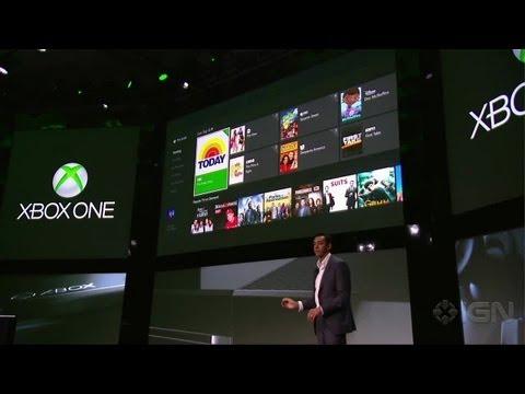 Xbox Live TV Demo - Xbox One Reveal