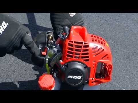 String Trimmer Basics: String Trimmer Fueling and Starting