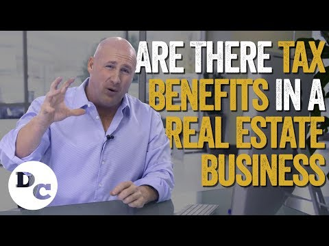 Are There Tax Benefits In A Real Estate Business