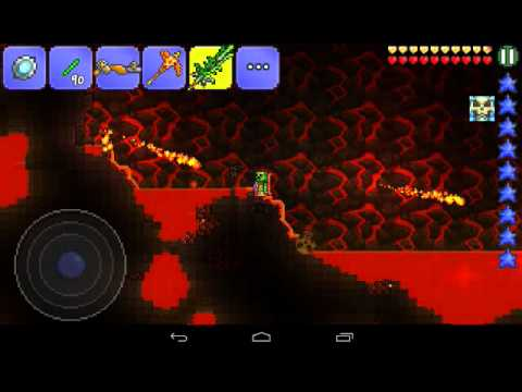 TERRARIA/ HOWTO GET/FIND THE GUIDE VOODOO DOLL.