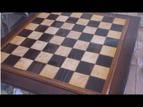 how to make a killer chess board out of scrap wood