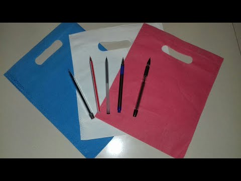 Best out of waste idea using  shopping bag /Best craft idea /DIY  (68)
