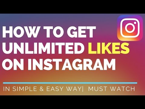 how to  get unlimited instagram likes 100% works