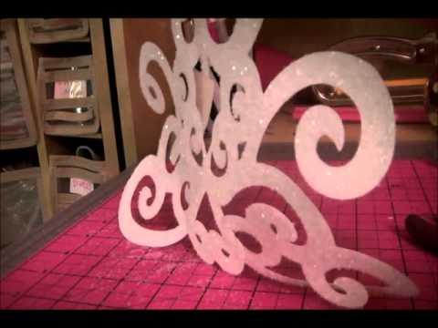 Cricut Expression Storybook 3d Chandelier Home Decor