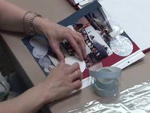 Scrapbook Photo Mounting
