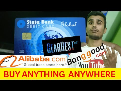How To Online Apply For Global ATM/Debit Card For International Online Payments | Aliexpress