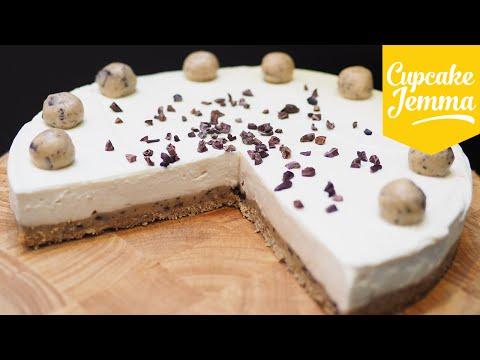 Cookie Dough Cheesecake Recipe | Cupcake Jemma
