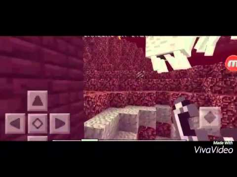 Cara membuat Nether Portal di Minecraft PE 0.12.1