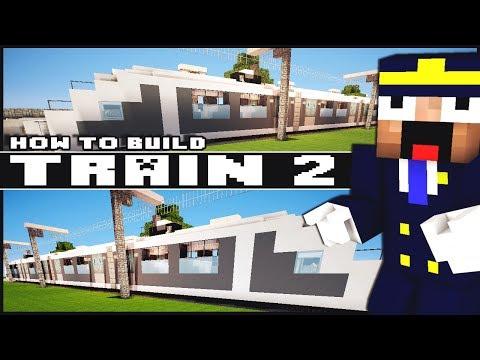 ► Minecraft : How to Make - Train (Part 2)