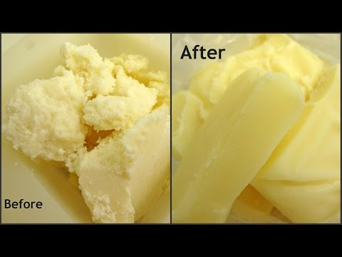 How to Correct Grainy Texture in Mango or Shea Butters