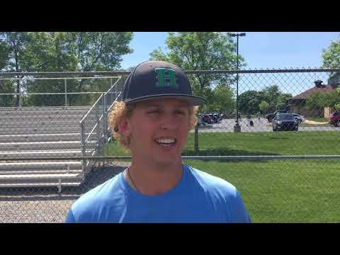 Saginaw Heritage star Spencer Schwellenbach talks about pre-draft jitters