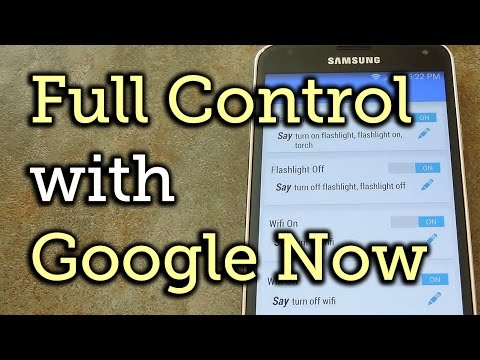 Get Custom Google Now Voice Commands for Android Without Root [How-To]