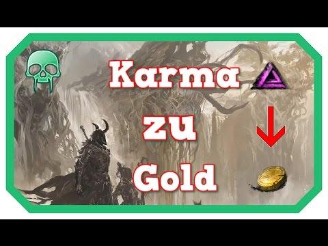 Es ist Zahltag !  Karma zu Gold mit Kartenboni | Guild Wars 2