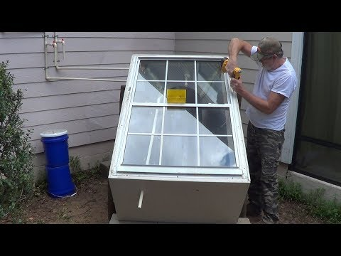 Free Hot Water with DIY Solar Batch Water Heater Pt 2
