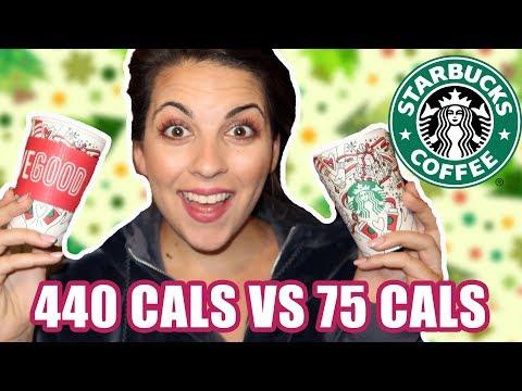 440 Calorie Starbucks Peppermint Mocha Vs. 75 Calorie Peppermint Mocha