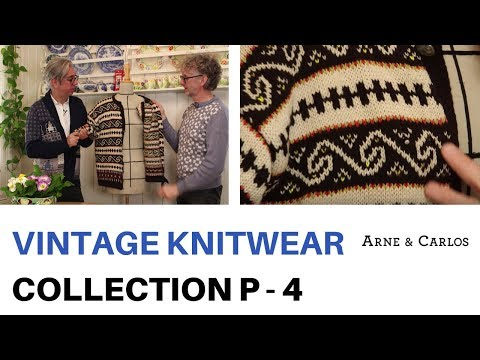 A tour of ARNE & CARLOS vintage knitwear collection. Part 4