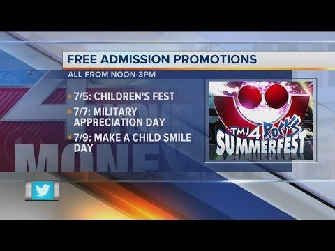 Free Summerfest Admission
