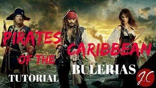 Pirates Of The Caribbean TEMA DE LA PELICULA POR BULERIAS,Jerónimo de Carmen-Guitarra flamenca