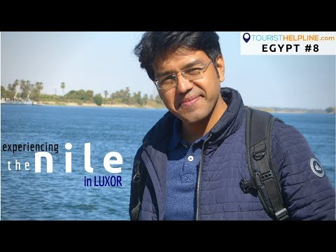 An Indian in Egypt | Nile River | Luxor temples | Egypt Trains | Bollywood fans