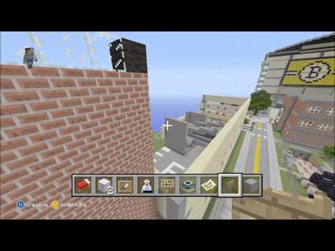 Minecraft Xbox 360 Edition-World tour-(TD Garden)