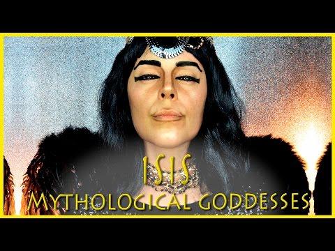 Mythological Goddesses Isis Egyptian FX Makeup | Silvia Quiros