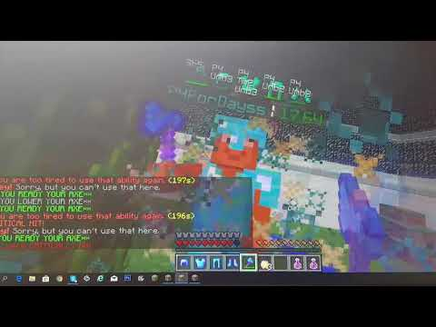 ItzSlayers #Hacking On Minetime Pirson (PvP Old)
