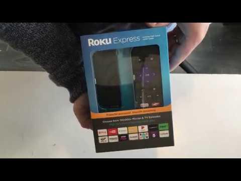 Roku Express Unboxing (UK Model)