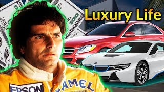 Nelson Piquet Luxury Lifestyle | Bio, Family, Net worth, Earning, House, Cars