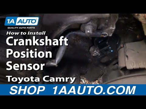 How To Install Replace Crankshaft Position Sensor Toyota Camry 3.0L V6 1AAuto.com